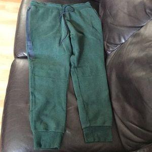 Men's Green Nike Tech Pants
